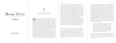 simple interior book formatting and design services