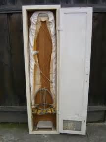 Vintage Ironing Board Cabinet Vintage Built In Ironing Board Cabinet Wall Mount Foundvalue