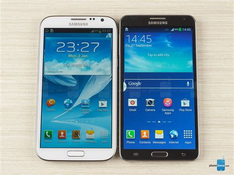 galaxy note 3 vs doodle 2 cult of infos samsung galaxy note 3 vs samsung galaxy note 2