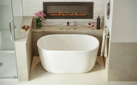 smallest bathtubs made aquatica lullaby nano wht small freestanding solid