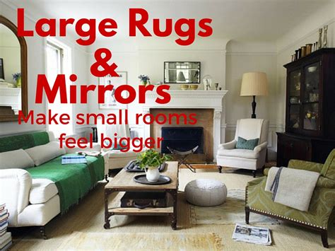 how to make a small room feel bigger vacation rental styling how to make a small room feel bigger