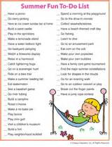 Featured summer fun to do list