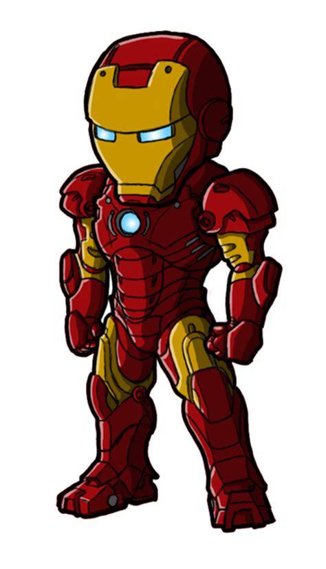 Figure Captain America Ironman Chibi chibi iron mk 3 by guyverc on deviantart