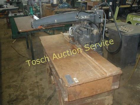 Online Woodworking Equipment Auction In Capac Michigan By