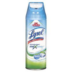 reckitt benckiser lysol max cover disinfectant mist garden  rain   oz aerosol