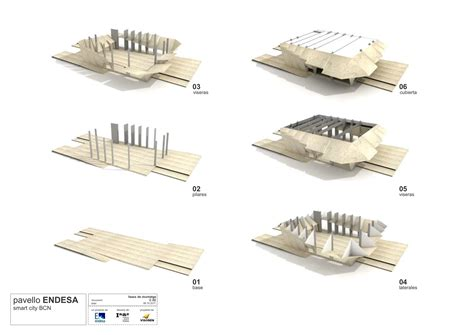 Plan House gallery of endesa pavilion institute for advanced