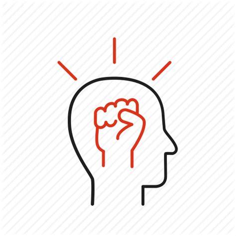 Autonomy, behavior, head, leadership, mentality, solution icon