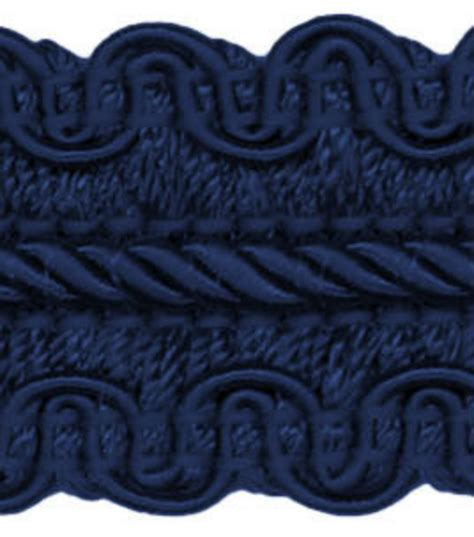 home decor trim signature series 1 navy braid jo
