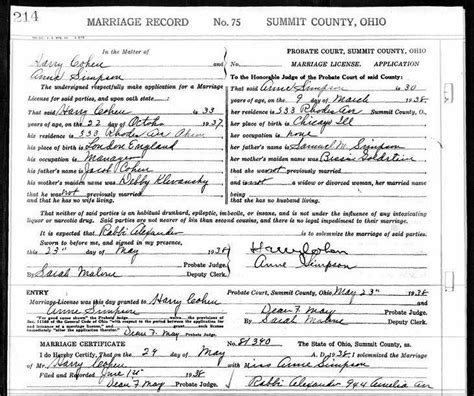 Ross County Ohio Birth Records Usgenweb Archives Summit County Ohio