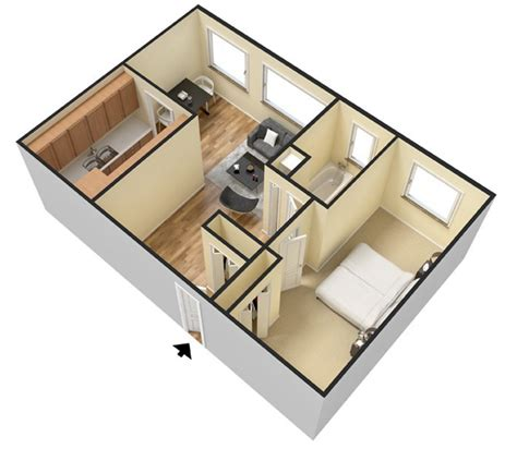 FLOOR PLANS   Dorilyn Terrace Apartments for rent in