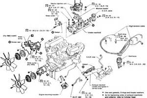 nissan pathfinder i need a detailed cooling system diagram v6 4wd