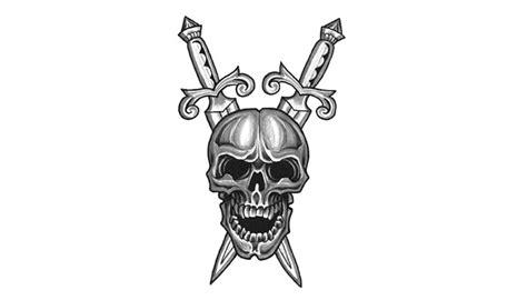 imagenes de calaveras y armas calaveras en blanco y negro para compartir en facebook