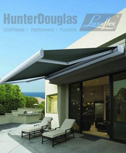 exterior awning toldos hunterdouglas luxaflex 174 exterior pinterest