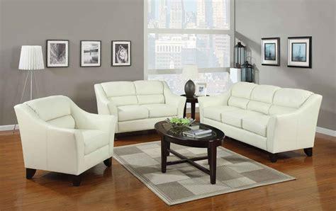 Coaster Brooklyn Living Room Set Ivory 504131 Livset At Coaster Living Room Furniture
