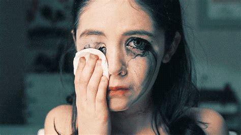 film psikopat erotis sad makeup gif find share on giphy