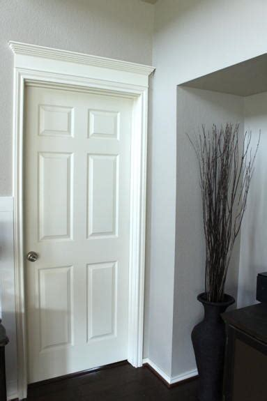 simple crown door molding diyideacentercom