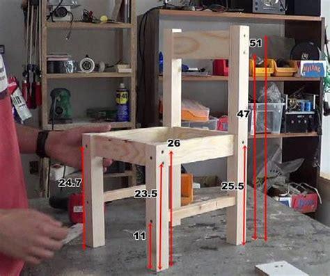 silla niño ikea c 243 mo hacer sillas de madera para ni 241 os con tornillos 1 2