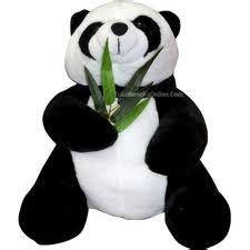 Overall Anak Kecil Panda boneka panda toko boneka lucu