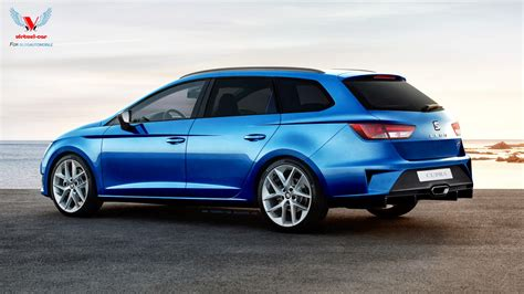 Simple Home Design News by This Crazy Seat Leon St Cupra Has A Large Diffuser