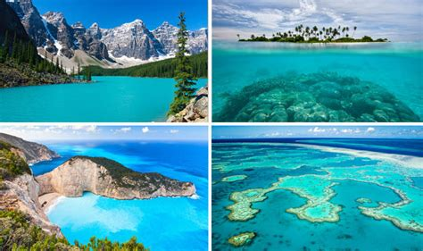 clearest ocean water in the world world s clearest waters all shades of blue in rivers