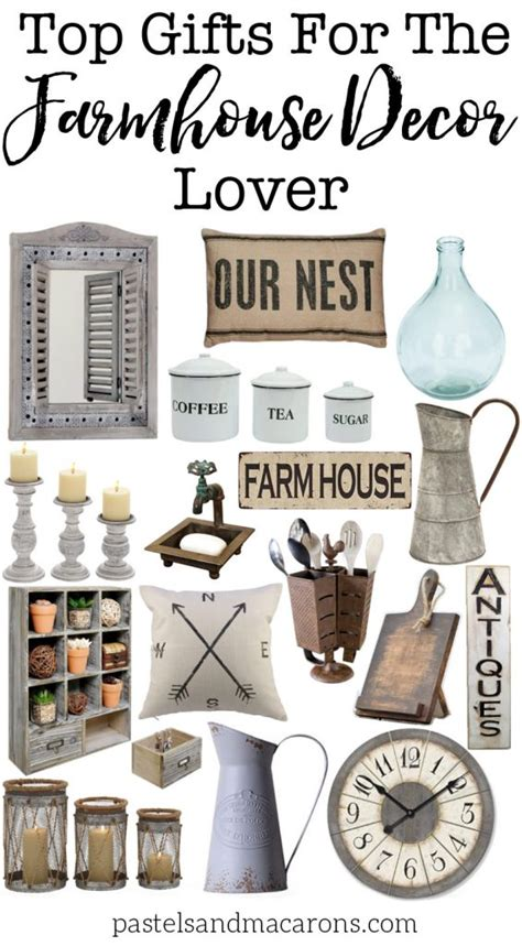 gift ideas for home decor farmhouse gift ideas for the farmhouse decor lover