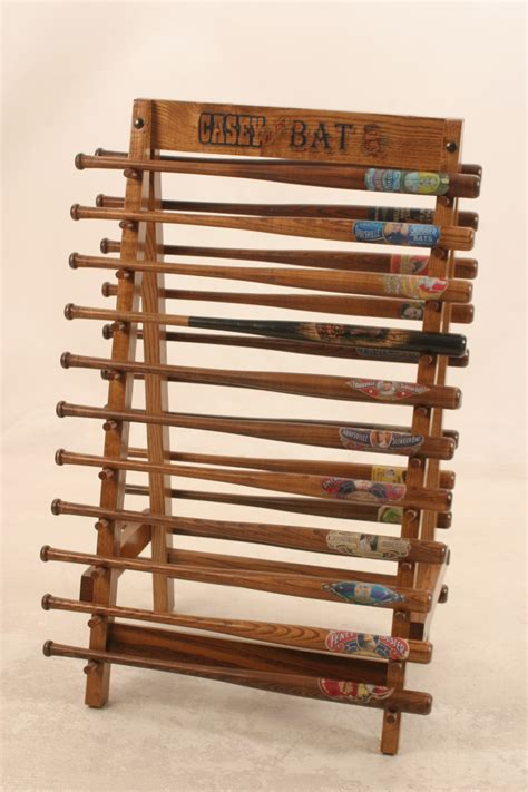 Baseball Bat Racks by Vintage Sports Restorations Authentic Reproduction Of