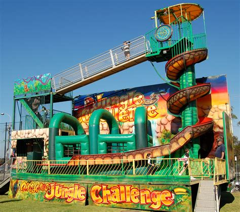 ride challenge jungle challenge carnival ride hire sydney launch your