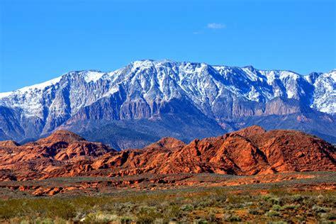utah landscape pine valley mntns st george utah utah landscape