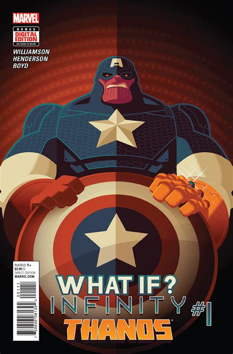1 by infinity what if infinity thanos vol 1 1 marvel database