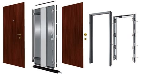posa porta blindata schema montaggio porta blindata fare di una mosca