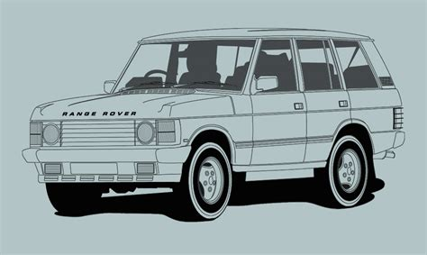 Illustration Range Rover Creative Surge