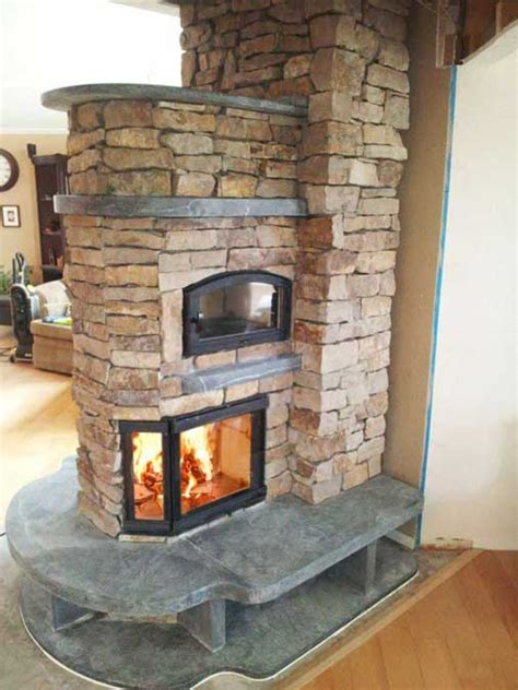 Soapstone Masonry Heater - cameron series greenstone soapstone masonry heaters
