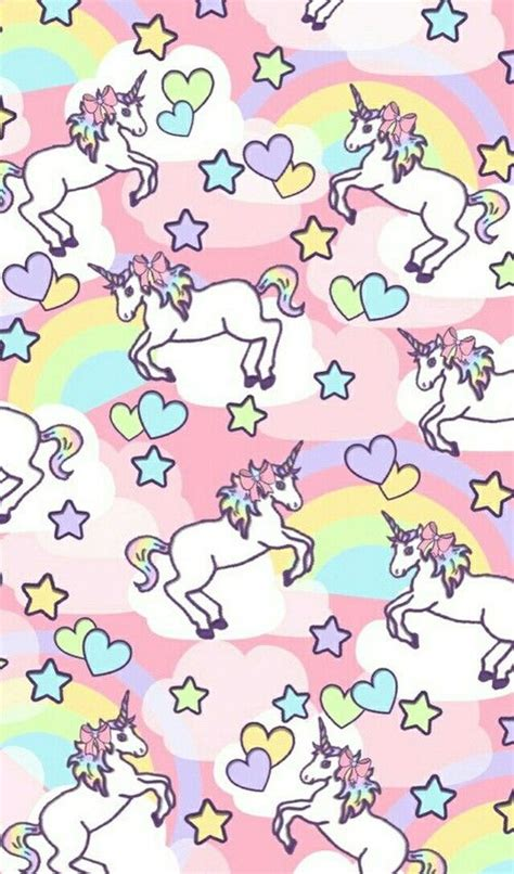 Unicornia Pattern | unicorn rainbow pattern find more kawaii android