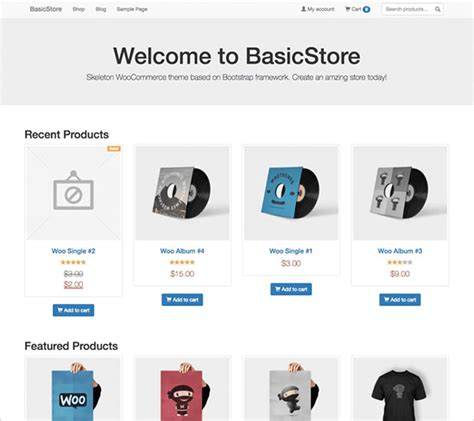 bootstrap themes minimal 10 best free latest e commerce wordpress themes of july