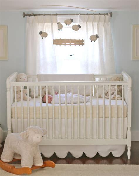 Sheep Nursery Decor Steffens Hobick S Nursery Soft Cuddly Nursery Pale Blue Lambs Sheeps