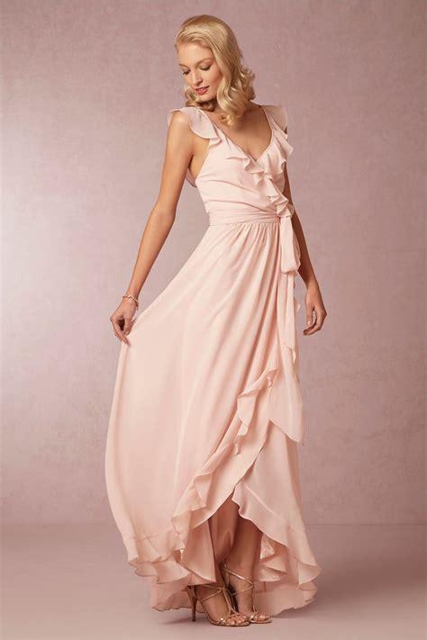 wedding trend blush bridesmaid dresses the sweet stuff