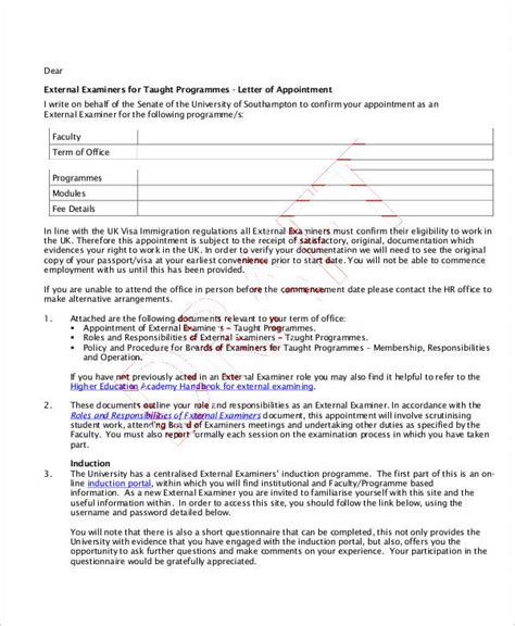appointment letter gm 28 appointment letter format general manager