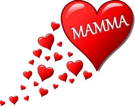 cuore clipart free clipart cuore per la festa della mamma con una scia