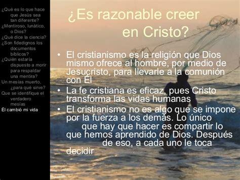 es razonable creer en 1433644975 pruebas de la divinidad de cristo