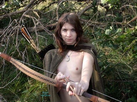 Nude Arrow Girl In Nature July Voyeur Web Hall Of Fame