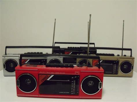 rare 80 s mix new vintage 80s retro radio cassette recorder boom box