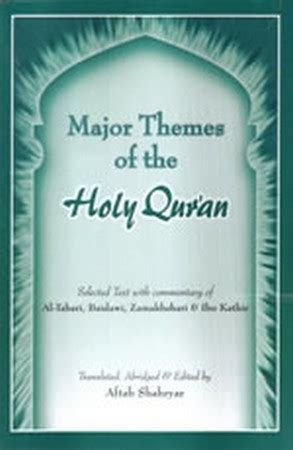 main themes quran major themes of the holy quran