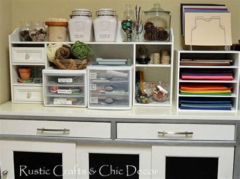 decorative craft storage cabinet ideas rustic crafts