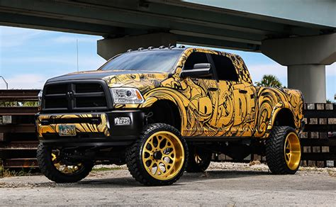 spades kreations dodge ram mega cab is a monster
