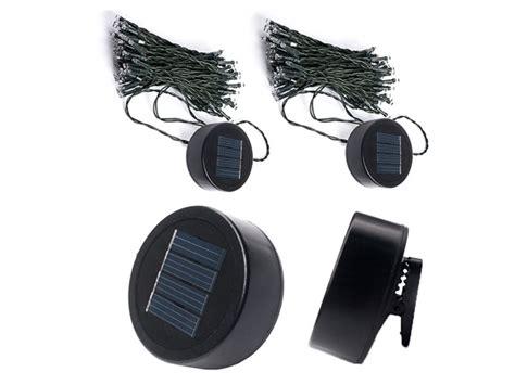 clip on solar lights 50 led solar string 12 clip on lights