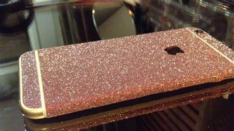 Skin Glitter Iphone 6 Plus diy iphone 6 skin sticker