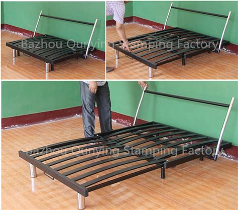 metal frame pull out sofa bed newest simple design pull out metal sofa bed frame with