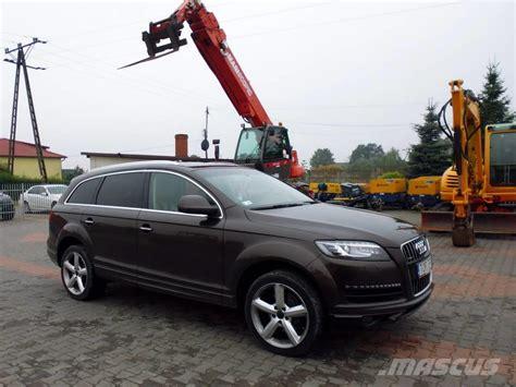 Audi Q7 Maße audi q7 hinta 24 540 vuosimalli 2011 henkil 246 autot