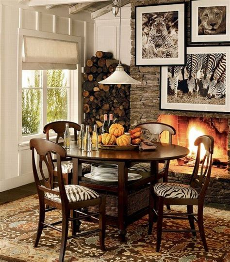 Dining Room Prints Decorating With Animal Print