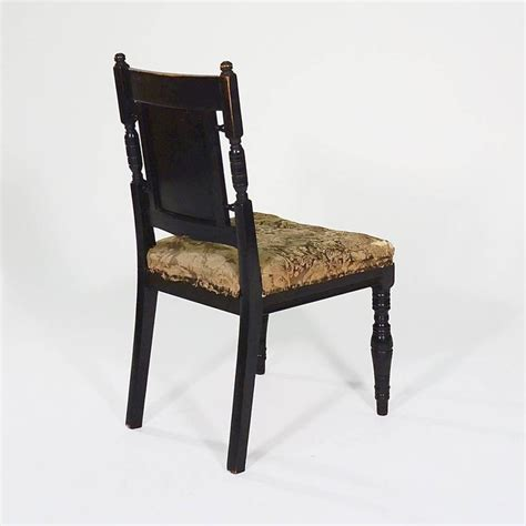 Aesthetic Chair by Aesthetic Ebonised Side Chair By Bruce Talbert At 1stdibs
